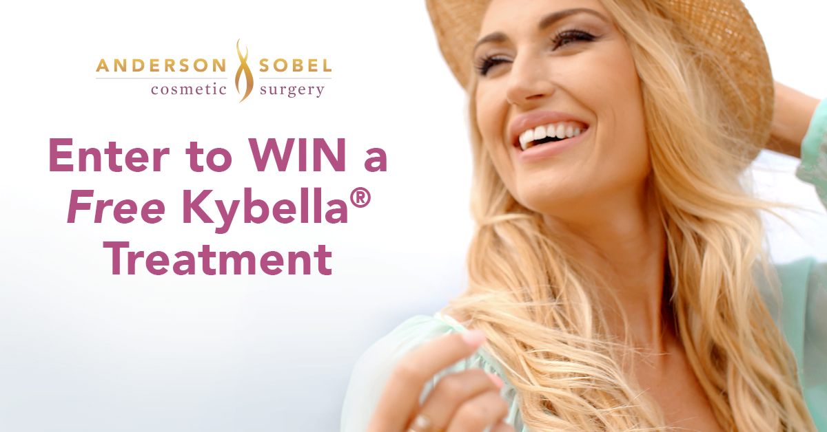 Win a FREE Kybella Treatment & Ditch Your Double Chin